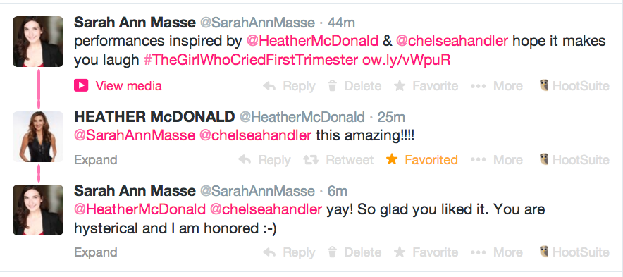 heather mcdonald thinks the girl who cried first trimester is amazing